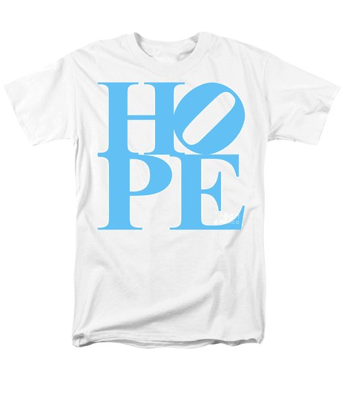 Hope 20130710 Blue White T-Shirt by Wingsdomain Art and Photography