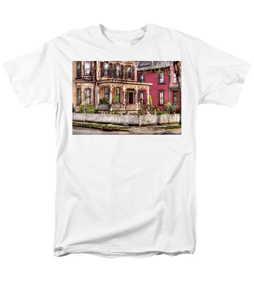 House - Country Victorian T-Shirt by Mike Savad