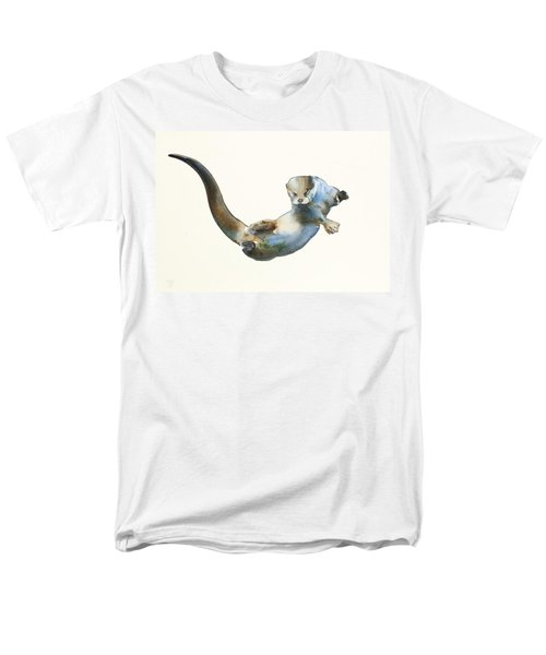 Hunter Men's T-Shirt  (Regular Fit) by Mark Adlington