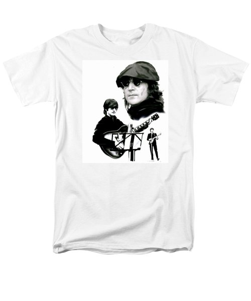 In My Life  John Lennon T-Shirt by Iconic Images Art Gallery David Pucciarelli