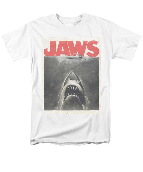 Jaws - Classic Fear Men's T-Shirt  (Regular Fit) by Brand A