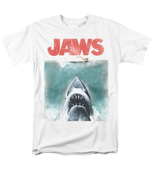 Jaws - Vintage Poster Men's T-Shirt  (Regular Fit) by Brand A