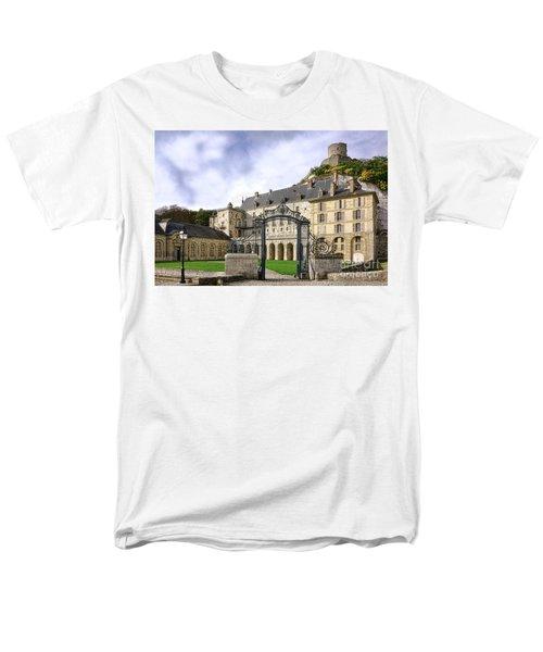 La Roche Guyon Castle T-Shirt by Olivier Le Queinec