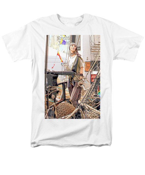 Lady Pirate of Penzance T-Shirt by Terri  Waters