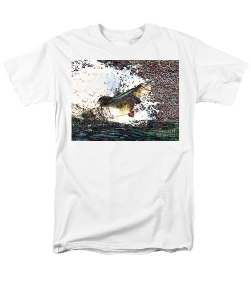 Largemouth Bass p180 T-Shirt by Wingsdomain Art and Photography
