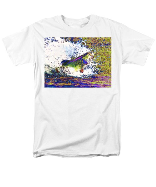 Largemouth Bass p68 T-Shirt by Wingsdomain Art and Photography