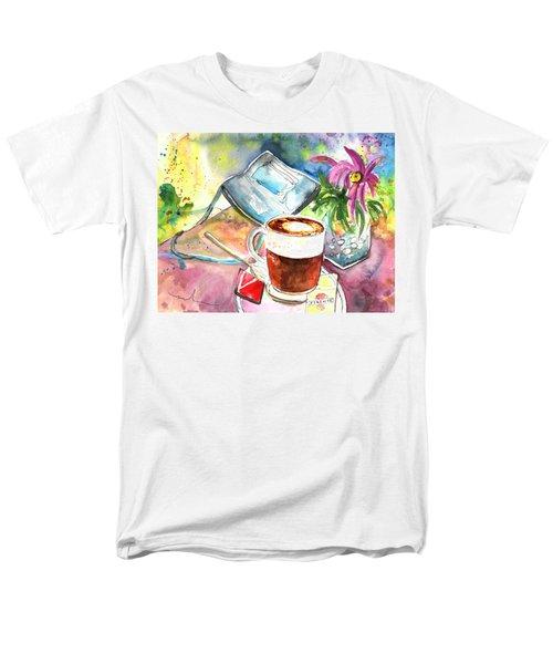 Latte Macchiato in Italy 01 T-Shirt by Miki De Goodaboom