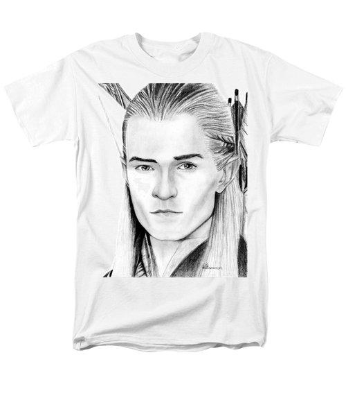 Legolas Greenleaf Men's T-Shirt  (Regular Fit) by Kayleigh Semeniuk