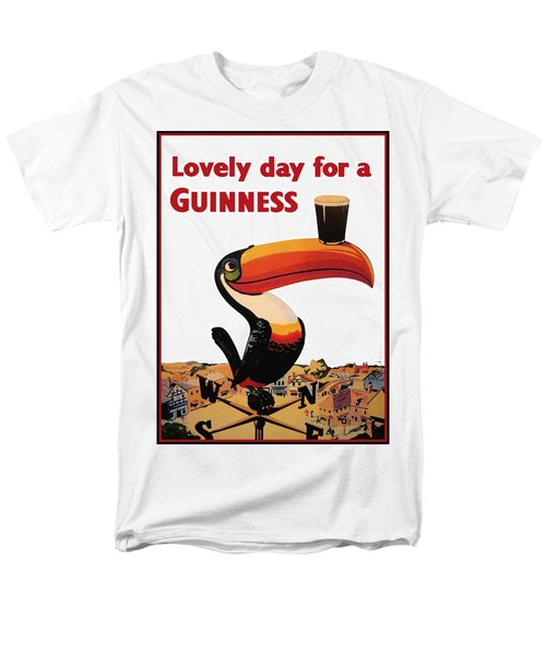 Lovely Day For A Guinness Men's T-Shirt  (Regular Fit) by Georgia Fowler