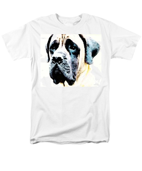 Mastif Dog Art - Misunderstood T-Shirt by Sharon Cummings