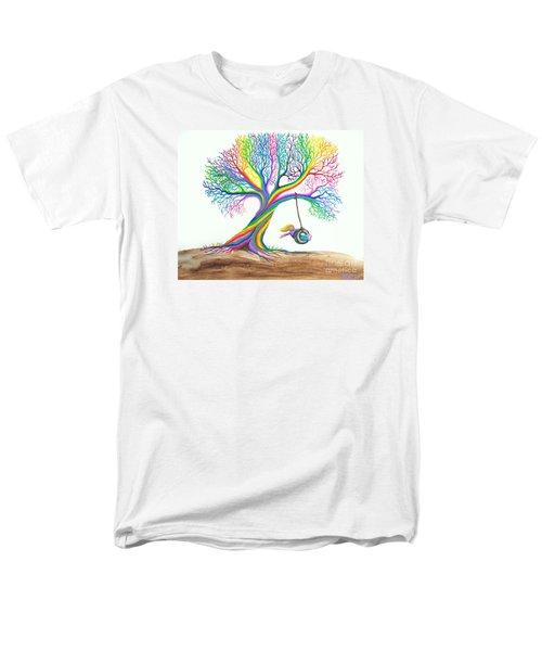 More Rainbow Tree Dreams T-Shirt by Nick Gustafson