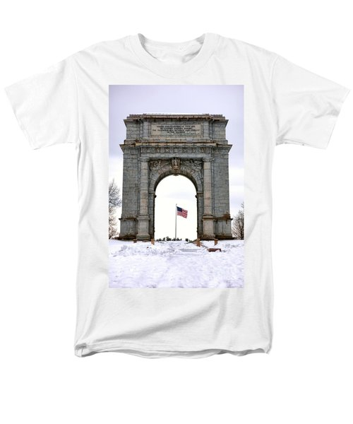 National Memorial Arch T-Shirt by Olivier Le Queinec