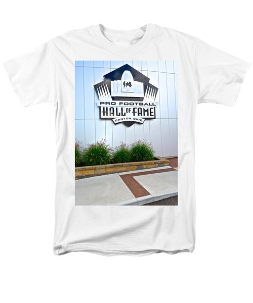 NFL Hall of Fame T-Shirt by Frozen in Time Fine Art Photography