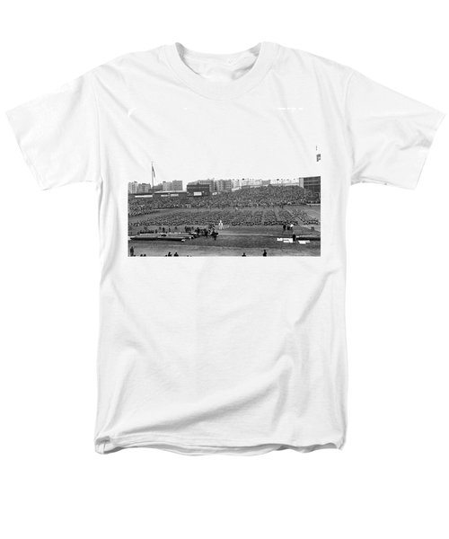 Notre Dame-army Football Game Men's T-Shirt  (Regular Fit) by Underwood Archives