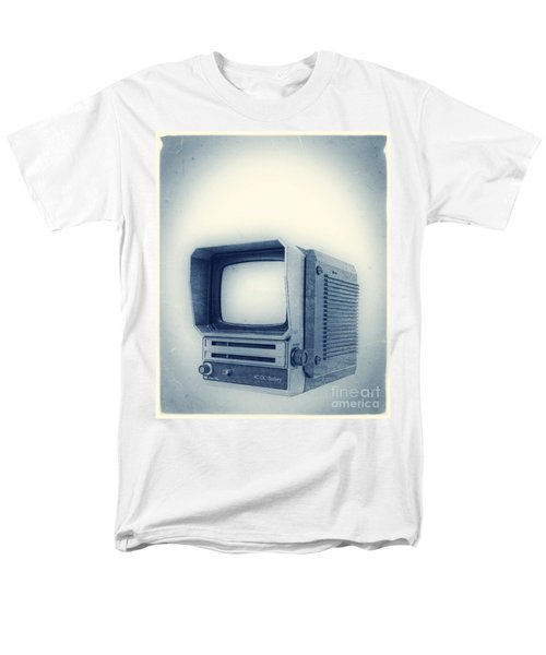 Old School Television T-Shirt by Edward Fielding