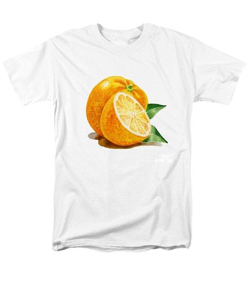 Orange T-Shirt by Irina Sztukowski