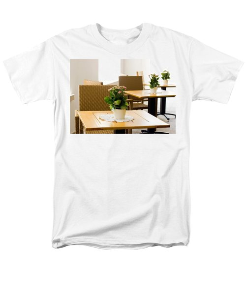 Outdoor Dining Tables T-Shirt by Pati Photography