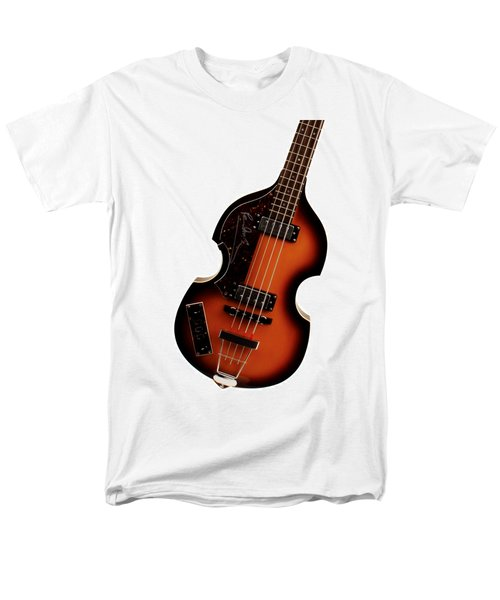 Paul McCartney Hofner Bass  T-Shirt by Bill Cannon