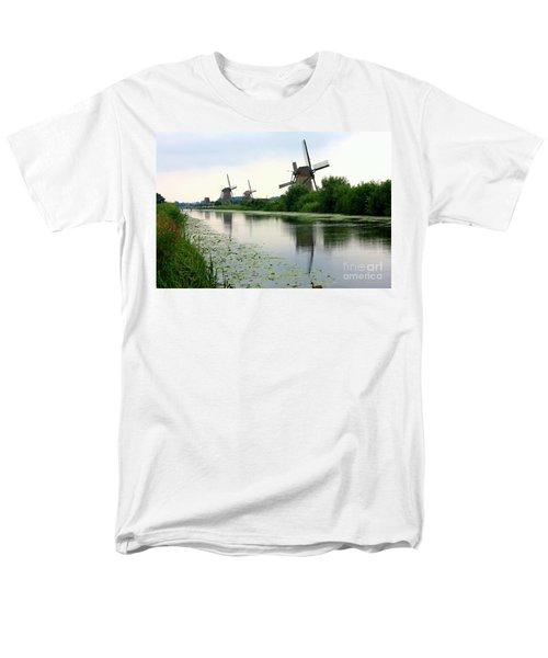 Peaceful Dutch Canal T-Shirt by Carol Groenen