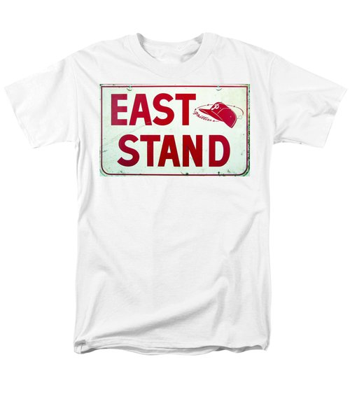 Phillies East Stand Sign - Connie Mack Stadium T-Shirt by Bill Cannon