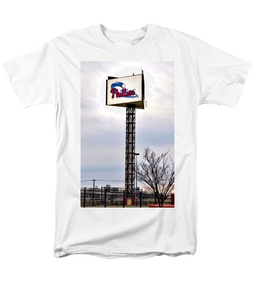 Phillies Stadium Sign T-Shirt by Bill Cannon