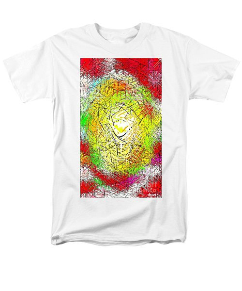PHONE CASE ART INTRICATE ABSTRACT CITY NETWORK GEOMETRIC DESIGN BY CAROLE SPANDAU 131 CBS ART   T-Shirt by CAROLE SPANDAU
