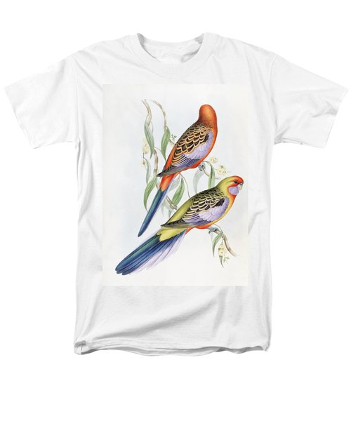 Platycercus Adelaidae From The Birds Of Australia Men's T-Shirt  (Regular Fit) by John Gould
