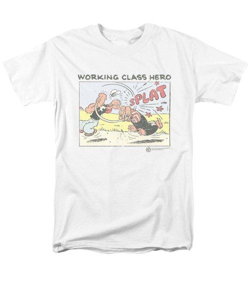 Popeye - Blue Bash Men's T-Shirt  (Regular Fit) by Brand A