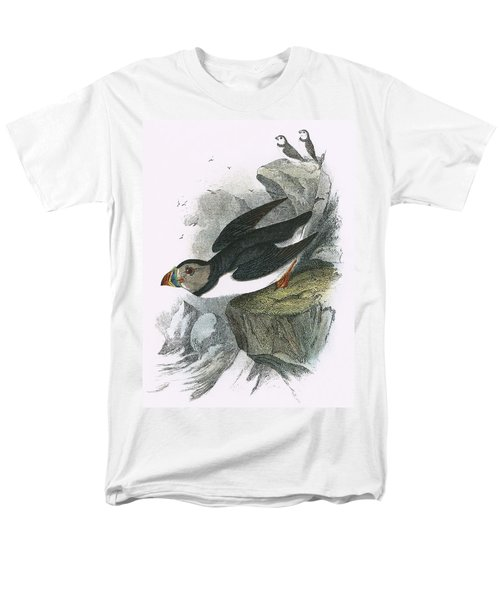 Puffin Men's T-Shirt  (Regular Fit) by English School