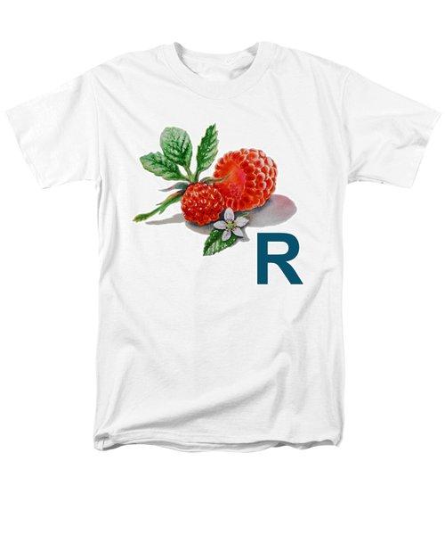 R Art Alphabet for Kids Room T-Shirt by Irina Sztukowski