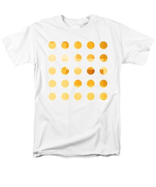 Rainbow Dots Orange T-Shirt by Pixel Chimp