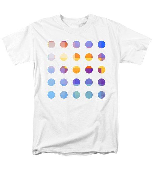 Rainbow Dots  T-Shirt by Pixel Chimp