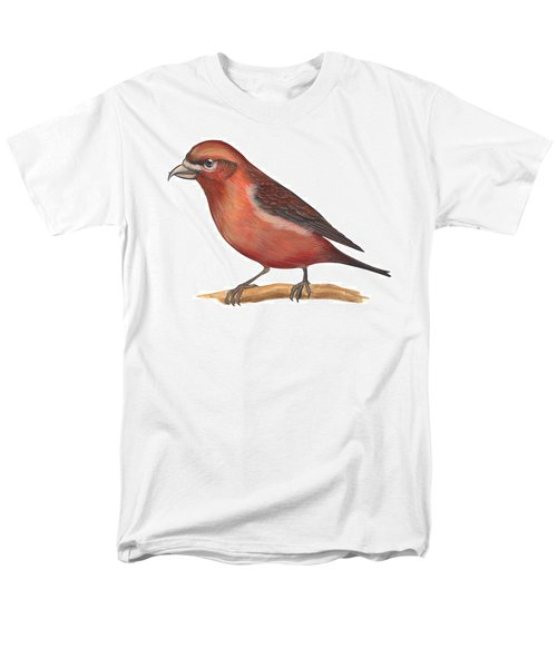 Red Crossbill Men's T-Shirt  (Regular Fit) by Anonymous