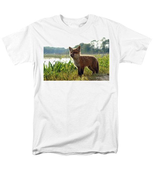 Red Fox Kit T-Shirt by Olivier Le Queinec