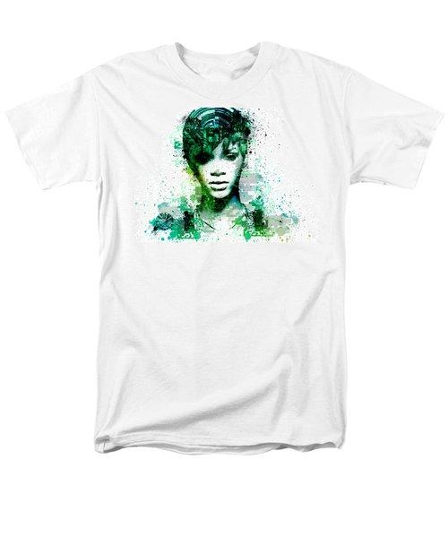 Rihanna 5 Men's T-Shirt  (Regular Fit) by Bekim Art