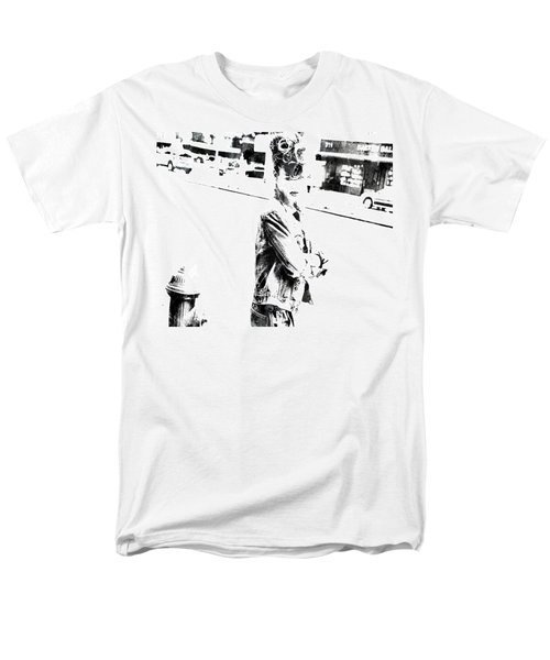 Rihanna Hanging Out Men's T-Shirt  (Regular Fit) by Brian Reaves