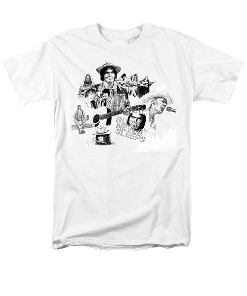Rust Never Sleeps Men's T-Shirt  (Regular Fit) by Ron Enderland