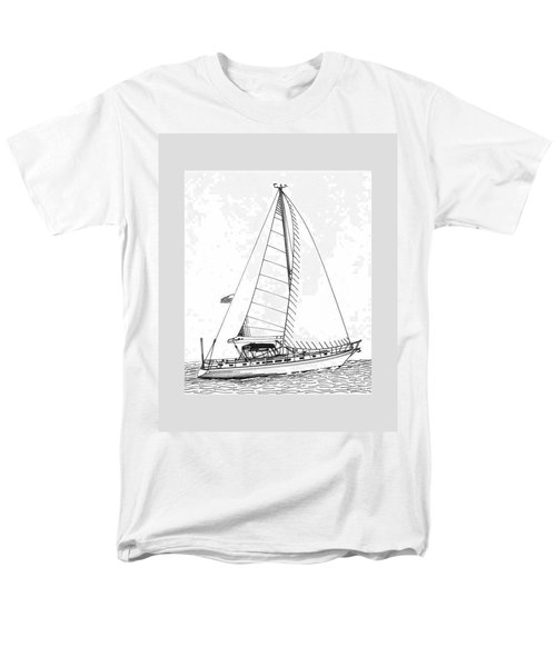 Sailing Sailing Sailing T-Shirt by Jack Pumphrey
