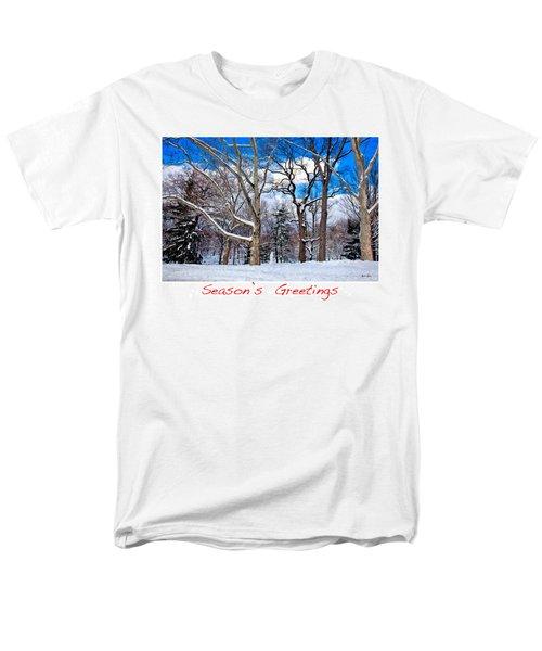 Season's Greetings T-Shirt by Madeline Ellis