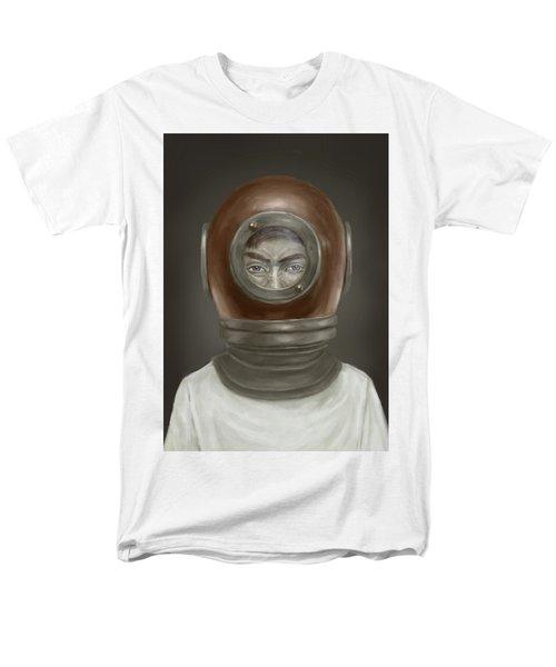 self portrait T-Shirt by Balazs Solti