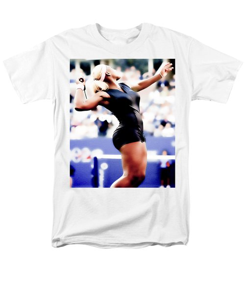 Serena Williams Catsuit Men's T-Shirt  (Regular Fit) by Brian Reaves