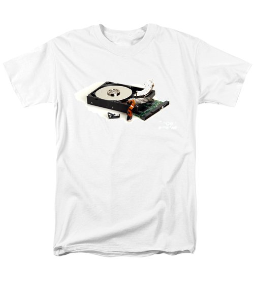 Seriously Crashed Hard Drive T-Shirt by Olivier Le Queinec