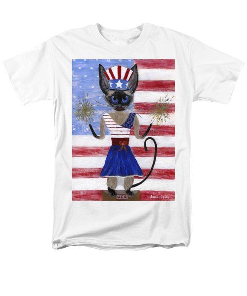 Siamese Queen of the U S A T-Shirt by Jamie Frier