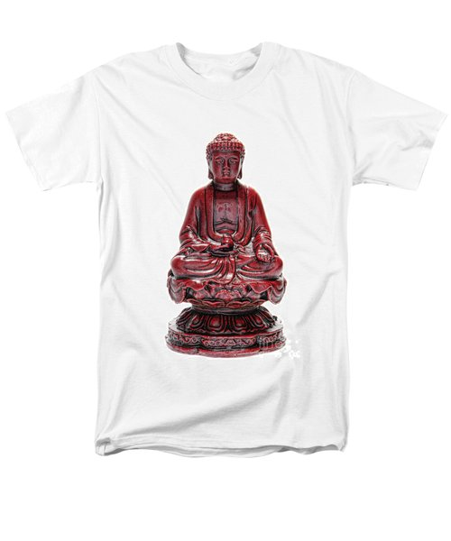 Sitting Buddha  T-Shirt by Olivier Le Queinec