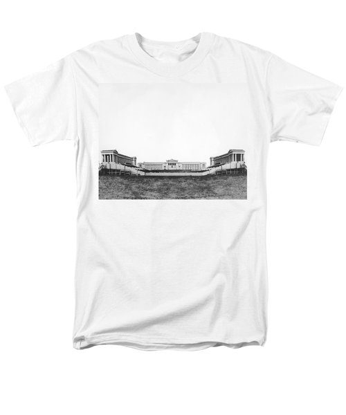 Soldiers' Field And Museum Men's T-Shirt  (Regular Fit) by Underwood Archives