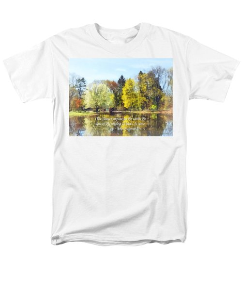 Song of Solomon 2 11-12 -  The flowers appear  T-Shirt by Susan Savad