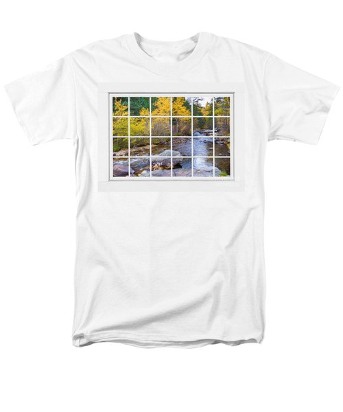 Special Place in the Woods Large White Picture Window View T-Shirt by James BO  Insogna