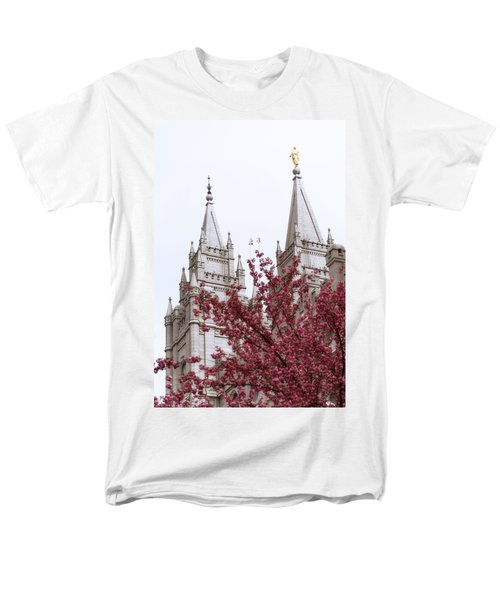 Spring at the Temple T-Shirt by Chad Dutson