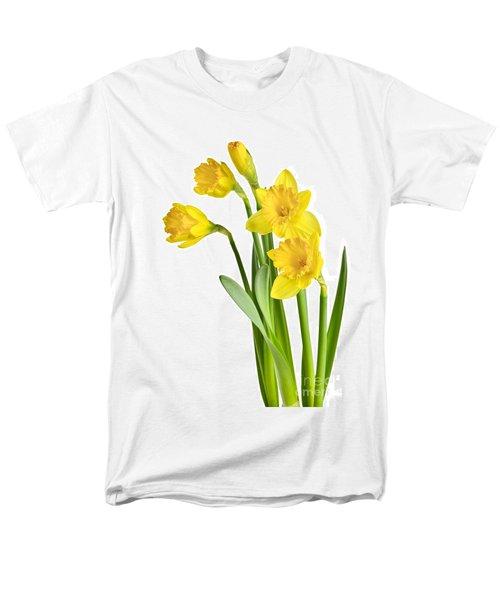 Spring yellow daffodils T-Shirt by Elena Elisseeva