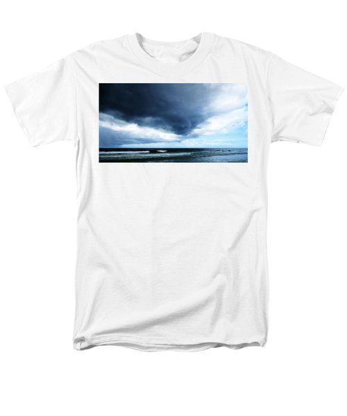Stormy - Gray Storm Clouds by Sharon Cummings T-Shirt by Sharon Cummings
